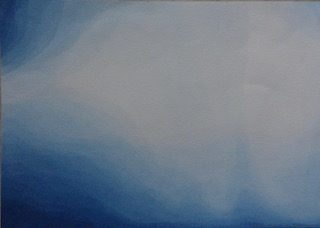 kleine sluiering met Pruisisch Blauw nr 2