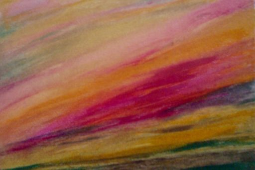 Kleurexpressie olieverf op papier no. 8