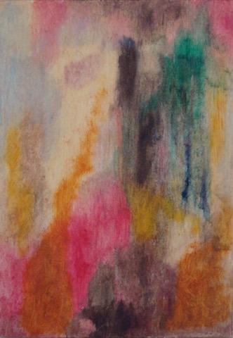 Kleurexpressie olieverf op papier no. 1