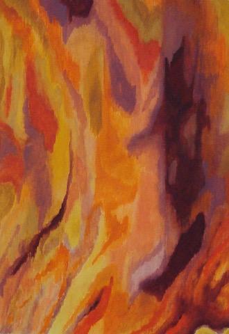 Kleurexpressie olieverf op papier no. 6