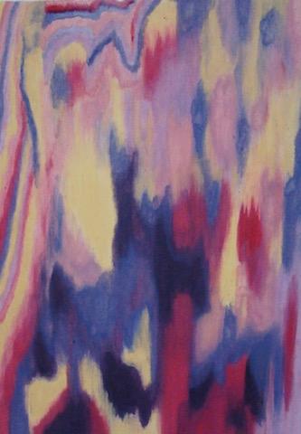 Kleurexpressie olieverf op papier no. 7