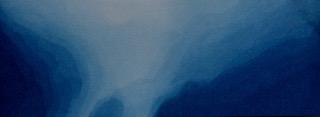 kleine sluiering met Pruisisch Blauw
