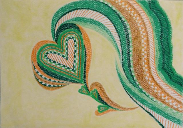 Kleur ervan in beweging en expressie