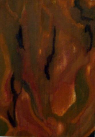 Kleurexpressie olieverf op papier no. 4