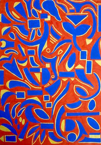 ontdekken geel blauw rood web3