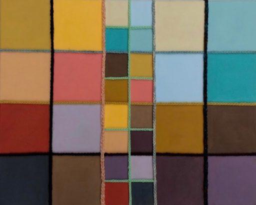 Kleur en wol II nieuwere kunst 2018